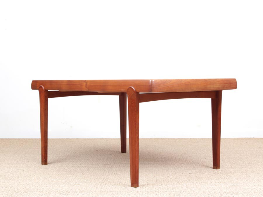 Mid-Century Modern Scandinavian Dining Table In Teak 6/10