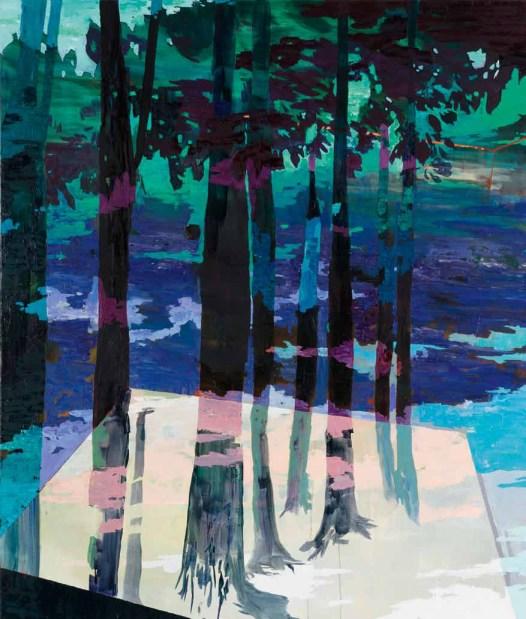 Michelle Jezierski, Vessel, Öl auf Leinwand, 2011