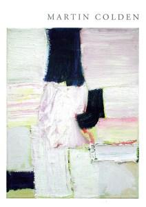 Umschlag des Katalogs von Martin Colden | Malerei