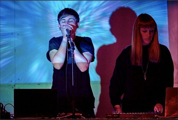 Elektronische Bilder und Musik - Konzert mit Elie Gregory & Sara Furlani