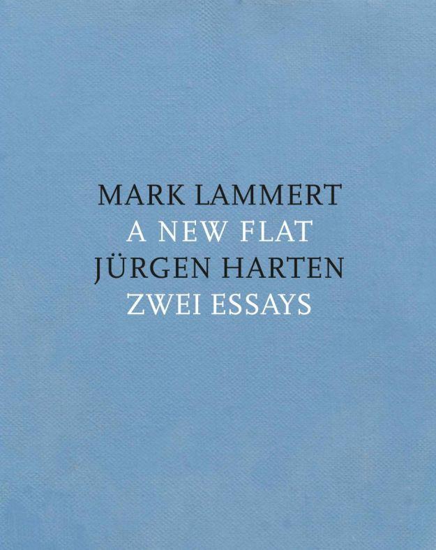 Cover des Heftes zur Ausstellung von Mark Lammert