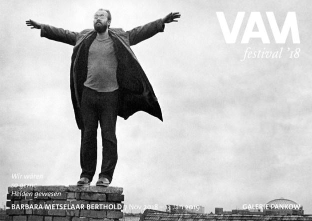 Flyer zur Ausstellung im Rahmen von Videoart at Midnight-Festivals '18