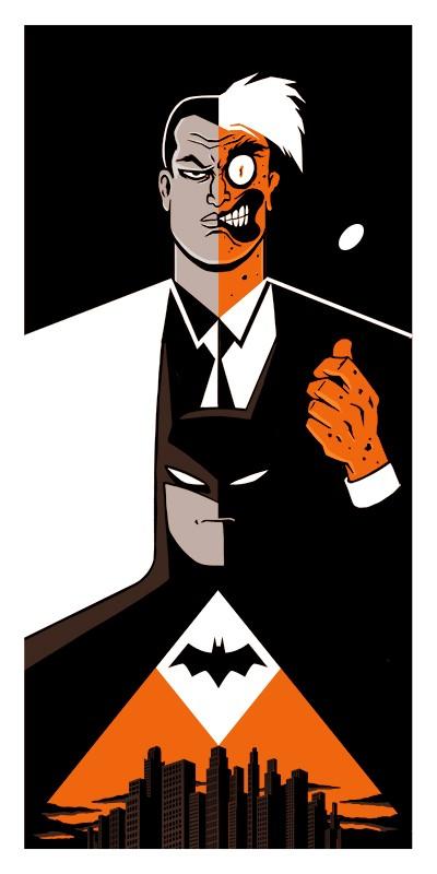 Batman Vs Double-face : batman, double-face, Batman, Double, Face,, Vincent, Roché, Photographie, D'art, Galerie, Sakura