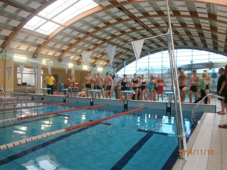 Licealiada 2014 - Mistrzostwa Powiatu w Pływaniu.