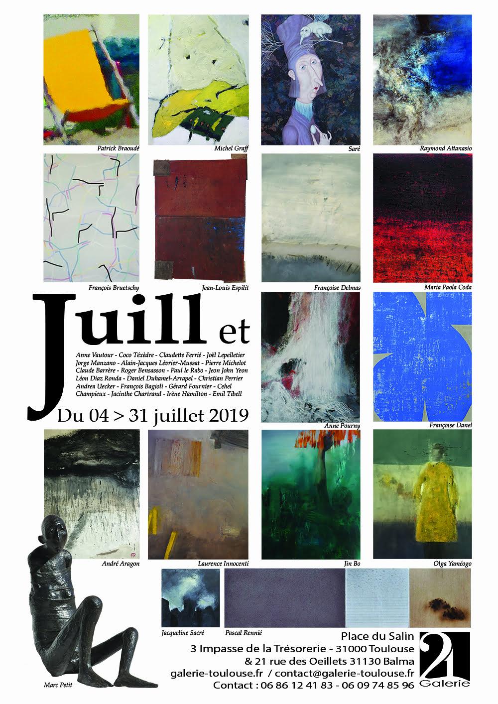 juillet presse Exposition Galerie 21 2019