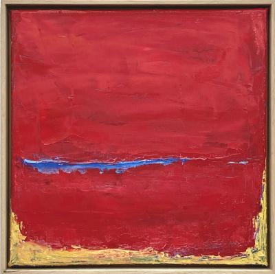 Somyot Hananuntasuk - untitled - oil on canvas - 2020 - 30 x 30 cm