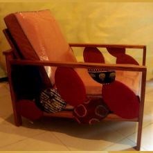 fauteuil saint-louis jazz avec tissu