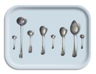 "2. ""Spoons"" wooden tray (luna)"