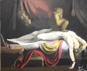 Le cauchemar de Fussli