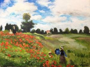 Les coquelicots Claude Monet