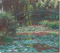 Claude Monet The water lily pond 1900 Mia Feigelson