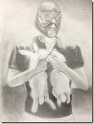dessin d'après magazine