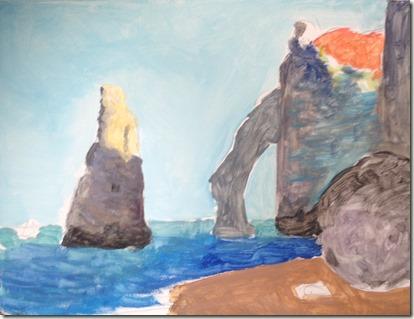 les falaises d'Etretat phase 2