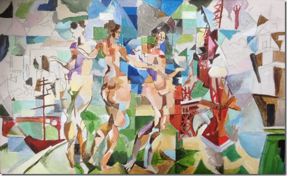La ville de Paris Robert Delaunay