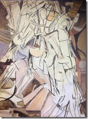 nu descendant l'escalier Marcel Duchamp