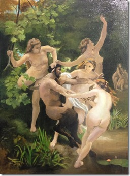William Bouguereau Nymphe et Satyre 2