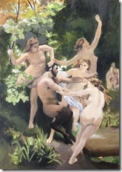william Bouguereau Nymphe et Satyre
