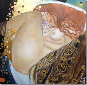 Gustave Klimt Danaé