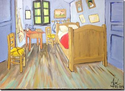 ... Vincent Van Gogh Chambre La ...