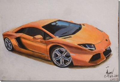 Comment dessiner une voiture réaliste en 4 étapes | L'art ...