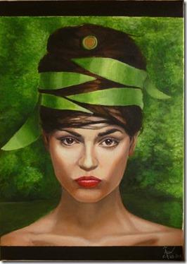 Christophe Michou Portrait végétal