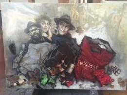 Trois juifs à Montmartre