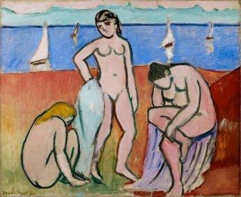 Henri Matisse, Trois baigneuses, 1907