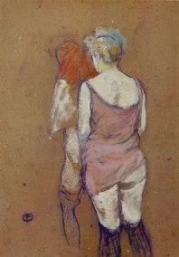 Toulouse Lautrec, Femmes vues de dos, 1894