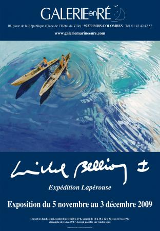 Michel BELLION - affiche 2009 expedition Laperouse