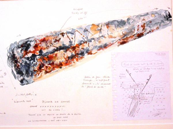 Michel BELLION - Plomb de sonde