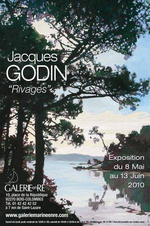 Jacques GODIN - Affiche exposition 2010