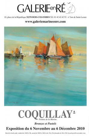 Jacques COQUILLAY - Affiche exposition 2010 SAUZON
