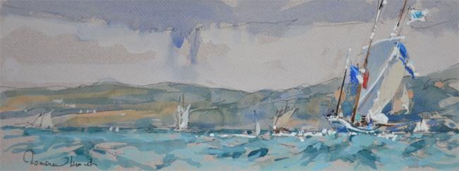 Ronan OLIER - La granvillaise en baie de Douarnenez11