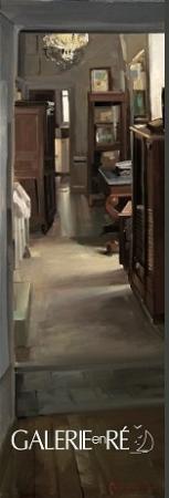Christoff DEBUSSCHERE - Le couloir de l'atelier 150x50