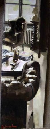 Christoff DEBUSSCHERE - Le grand salon 90x30