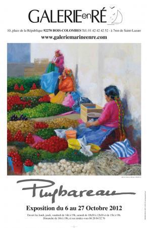 PUYBAREAU - 2012 Affiche du marché