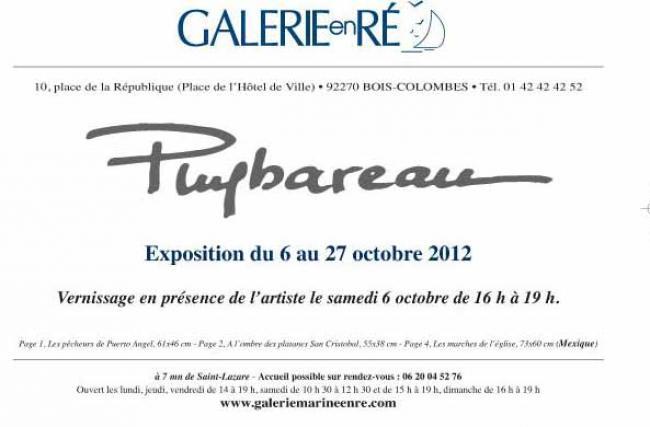 PUYBAREAU - carton d'invitation 2012