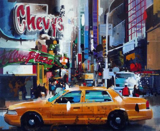 Yong-Man KWON - Taxi à NYC nov 12