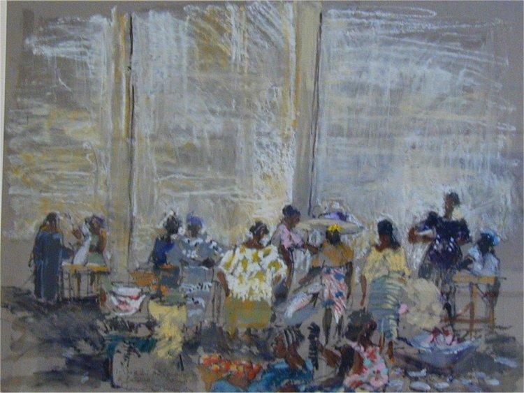 Ronan OLIER - Cotonou les marchands de poisson