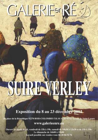 Olivier SUIRE-VERLEY - affiche de l'exposition 2012