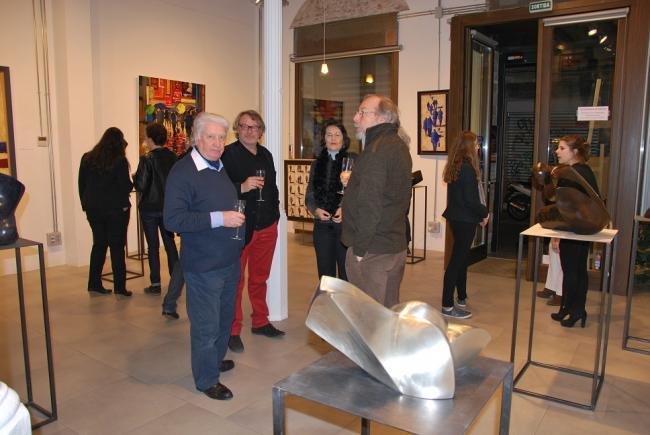 Les premières minutes de la galerie Barcelona - R.  et MP , Olivier Suire