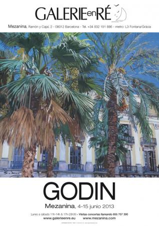 Jacques GODIN - affiche Barcelona 2013