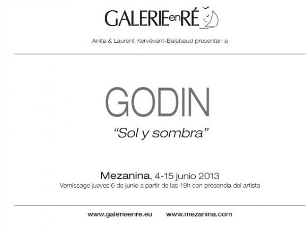 Jacques GODIN - invitation vernissage barcelona