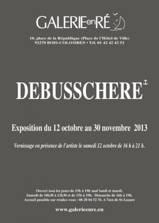 Christoff DEBUSSCHERE - vernissage