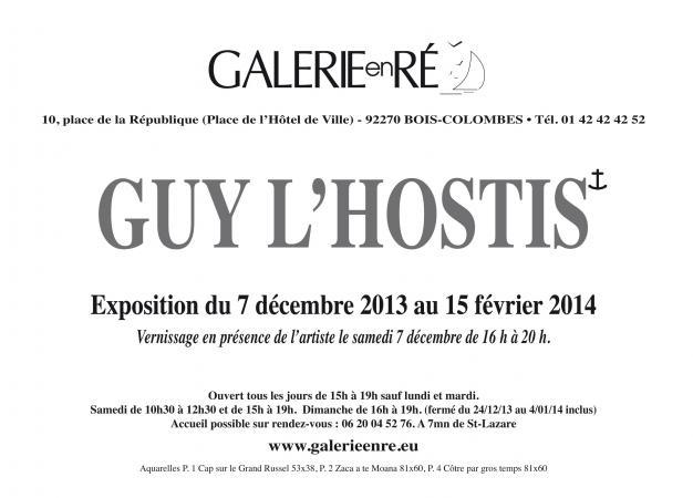 Guy LHOSTIS - Invitation