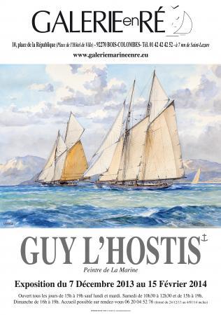 Guy LHOSTIS - 2013 Affiche