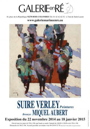 Olivier SUIRE-VERLEY - affiche 2014