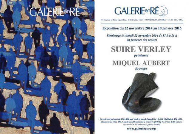 Olivier SUIRE-VERLEY - Carton virtuel 2014 recto verso