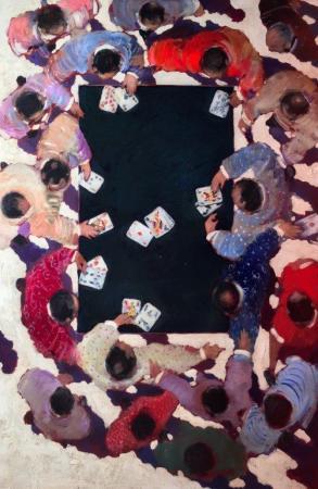 Olivier SUIRE-VERLEY - Joueurs de cartes