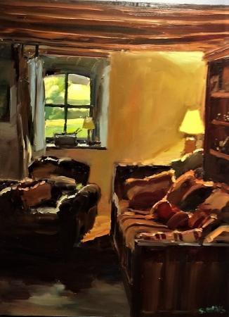 Stephane RUAIS - 2017 Le canapé rouge à Mérinville